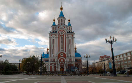 City-Khabarovsk Cathedral of the assumption of the Mother of God