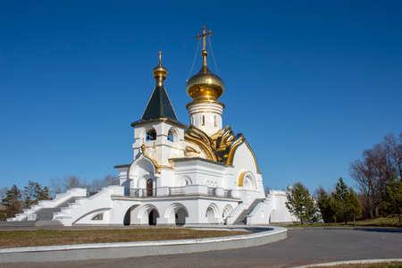 Church of St. Seraphim of Sarov. Khabarovsk. Russia