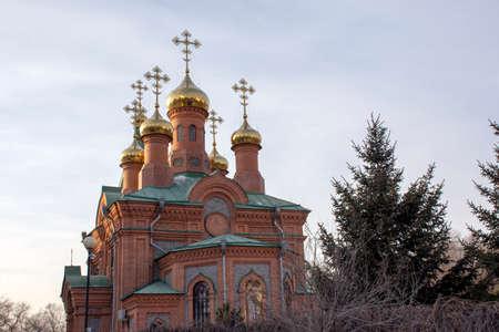 Church of St. Innocent of Irkutsk. Khabarovsk. Russia.