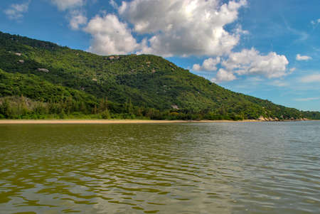 Vietnam, Nha Trang-November, 2017: Islands. Seascape Stockfoto