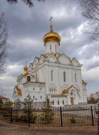 Russia. Khabarovsk. Church of the Holy Martyr Grand Duchess Elizabeth