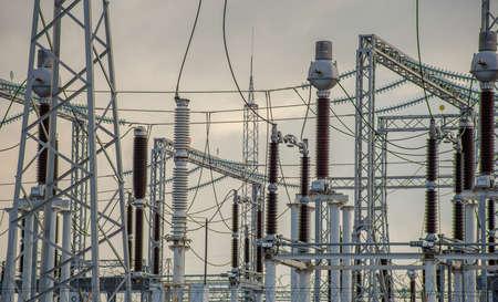Supply system. Power transmission station