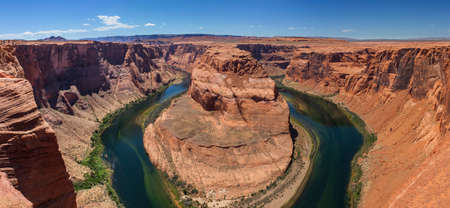 Horseshoe Bend Grand Canyon panorama