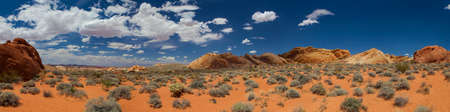 Valley Of Fire, Nevada, USA Standard-Bild