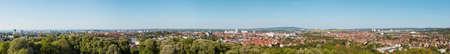 Panoramic View Of Erfurt Germany