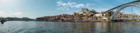 Panoramic view of Porto Standard-Bild
