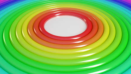 torus: Business 3d Infographics torus concept pipes where a can be put in the middle. Stock Photo