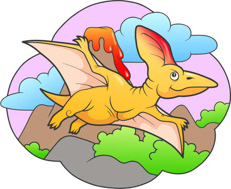 pterodactyl: pterodactyl Illustration