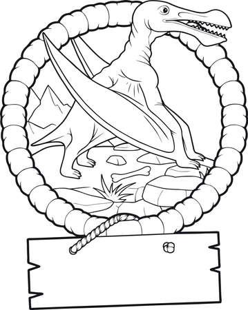 pterodactyl: pterodactyl Illustration