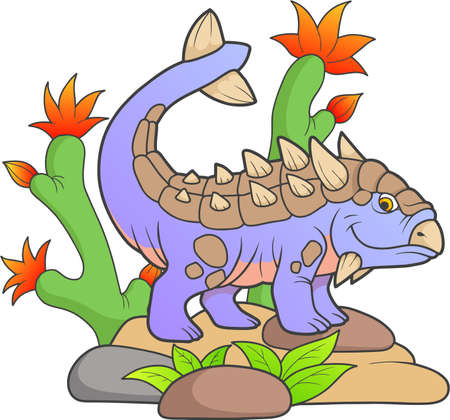 paleontology: dinosaur Illustration