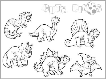 dinosaurs: dinosaurs Illustration