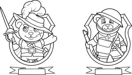 musketeer: bears