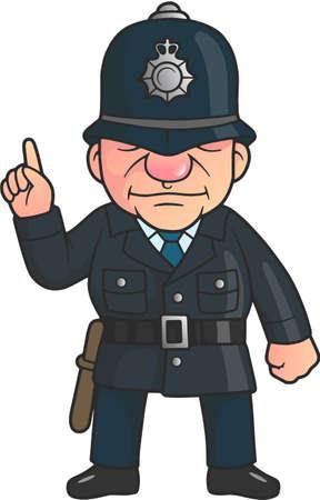 policeman 向量圖像