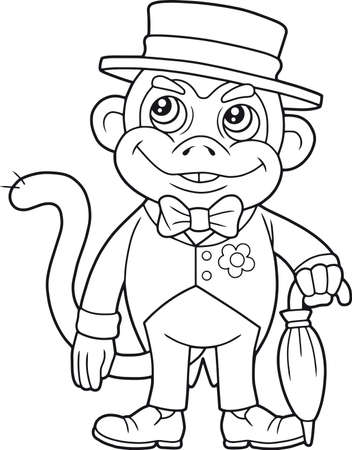 monkey suit: monkey