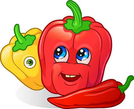 pepper Vektoros illusztráció