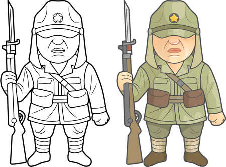 Second World War soldiers of the Japanese Imperial Army