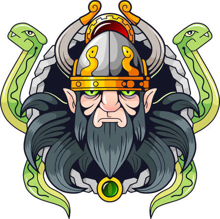 ancient scandinavian god of deception Loki