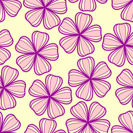 Floral, spring, abstract seamless pattern. Vector illustration Ilustrace