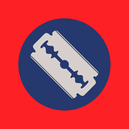 Blade razor icon isolated. Flat syle Vector illustration 矢量图像