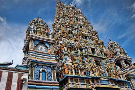 Hindu temple in Colombo - Sril Lanka photo taken in 2011 Stock Photo - 17379687