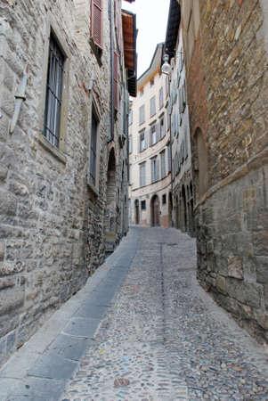 Bergamo Old city photo