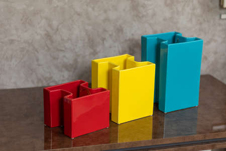 Luxury colorful boxes decors for home