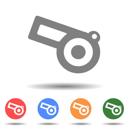 Linear cannon icon vector logo isolated on background