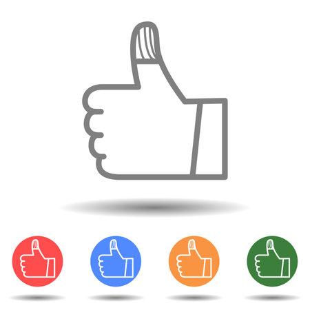 Injured wounded bandage finger icon vector logo isolated on background