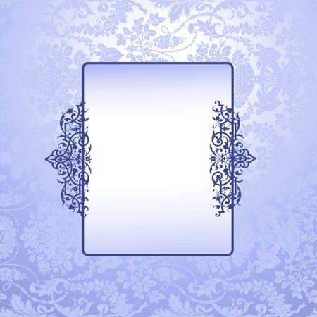details: Antique Blue wallpaper