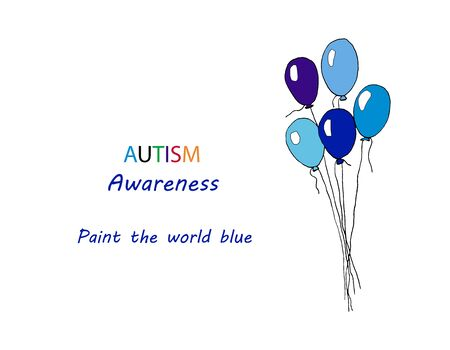 watercolor illustration of world autism awareness day. design of a hand-drawn sign puzzle. Symbol of autism. isolated on a white background.