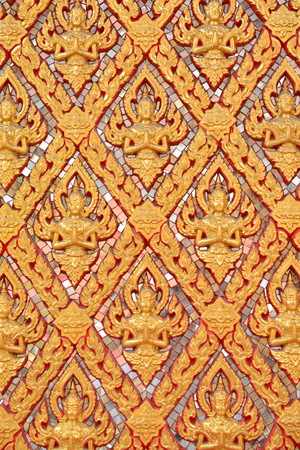 asian angel: Thai traditional angels pattern