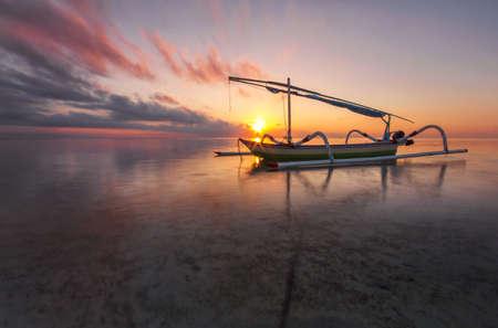 sanur: Boat at Sanur Beach