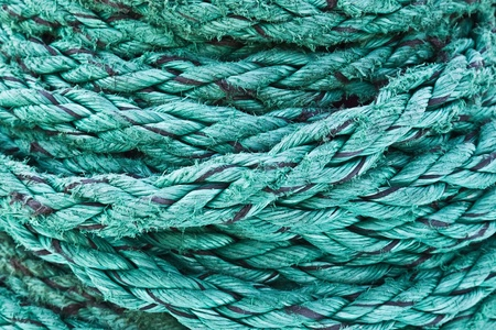Decorative, beautiful rope of the cruise ship, background, texture Stock Photo - 16398460