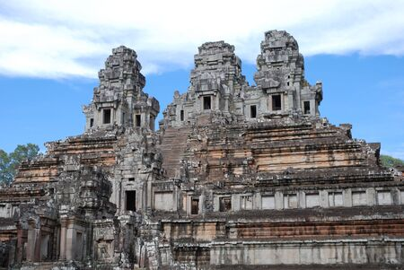 cambodge: old khmer temple in cambodia