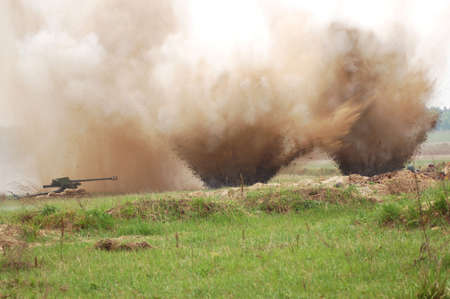 double  explosion photo