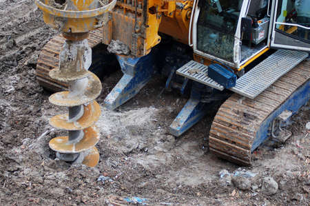 Drilling construction Stock Photo - 778390