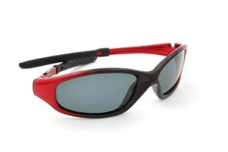 bifocals: Sunglasses on white isolated