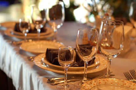 Served table Stock Photo - 895911