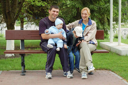 Happy Family Stock Photo - 980756