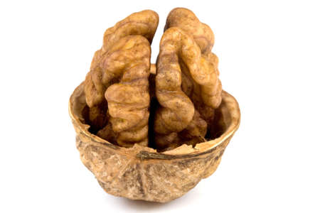 Walnuts isolated on a white background Stock Photo - 5220967