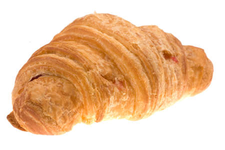 croissant isolated on a white  Stock Photo - 6078594