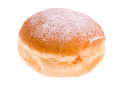 Doughnut isolated on the white photo