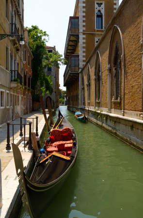 Gondel in Venetië Stockfoto - 8441835