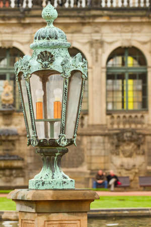 Lantern in Zwinger Palace . Dresden, Germany Stock Photo - 10634139
