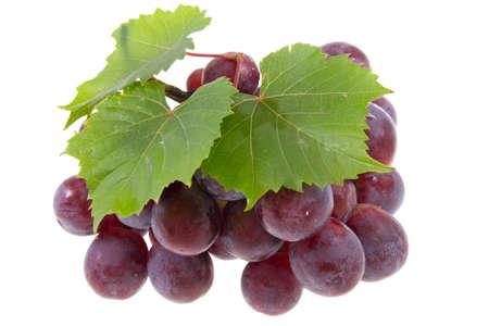 grape isolated on white Foto de archivo