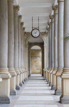 Colonnade in Karlovy Vary, Czech Republic Stock Photo - 10839194