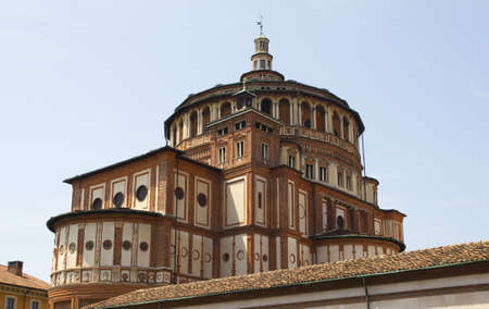 Church of Santa Maria delle Grazie in Milan, Italy   photo