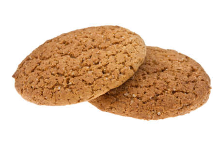 cookies isolated on the white Stock Photo - 18119296