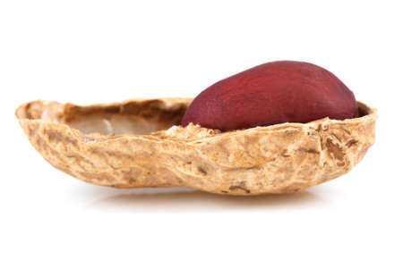 Peanut isolated on  white Stock Photo - 18974564