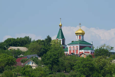 boris: Old orthodox church of Boris and Gleb in Vyshgorod, Ukraine Stock Photo